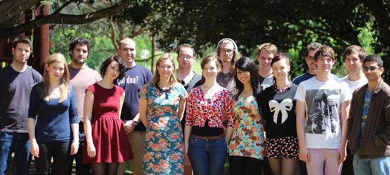 The 2012 Macquarie University iGEM team.