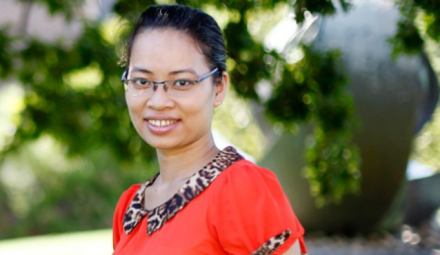 AusAID scholarship student off to a flying start