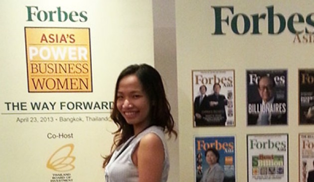 Graduate forges ahead with Forbes