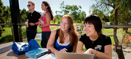 Macquarie University was given an international outlook score of 91.1, compared with 98.2 for the top-ranked university. (Photo: Paul Wright)