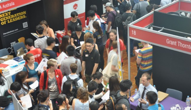 Employers, students flock to Macquarie University's Careers Fair