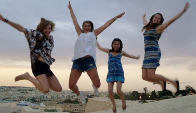 Malta a great jumping-off point to Europe, says Macquarie student
