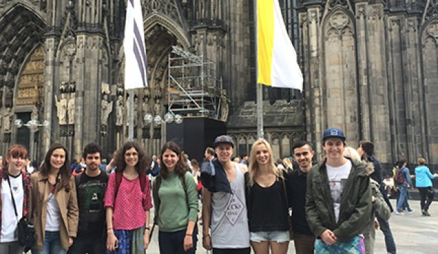 Macquarie Study Abroad students enjoy German summer