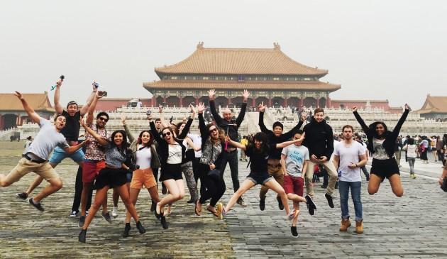 China: exploring a new world