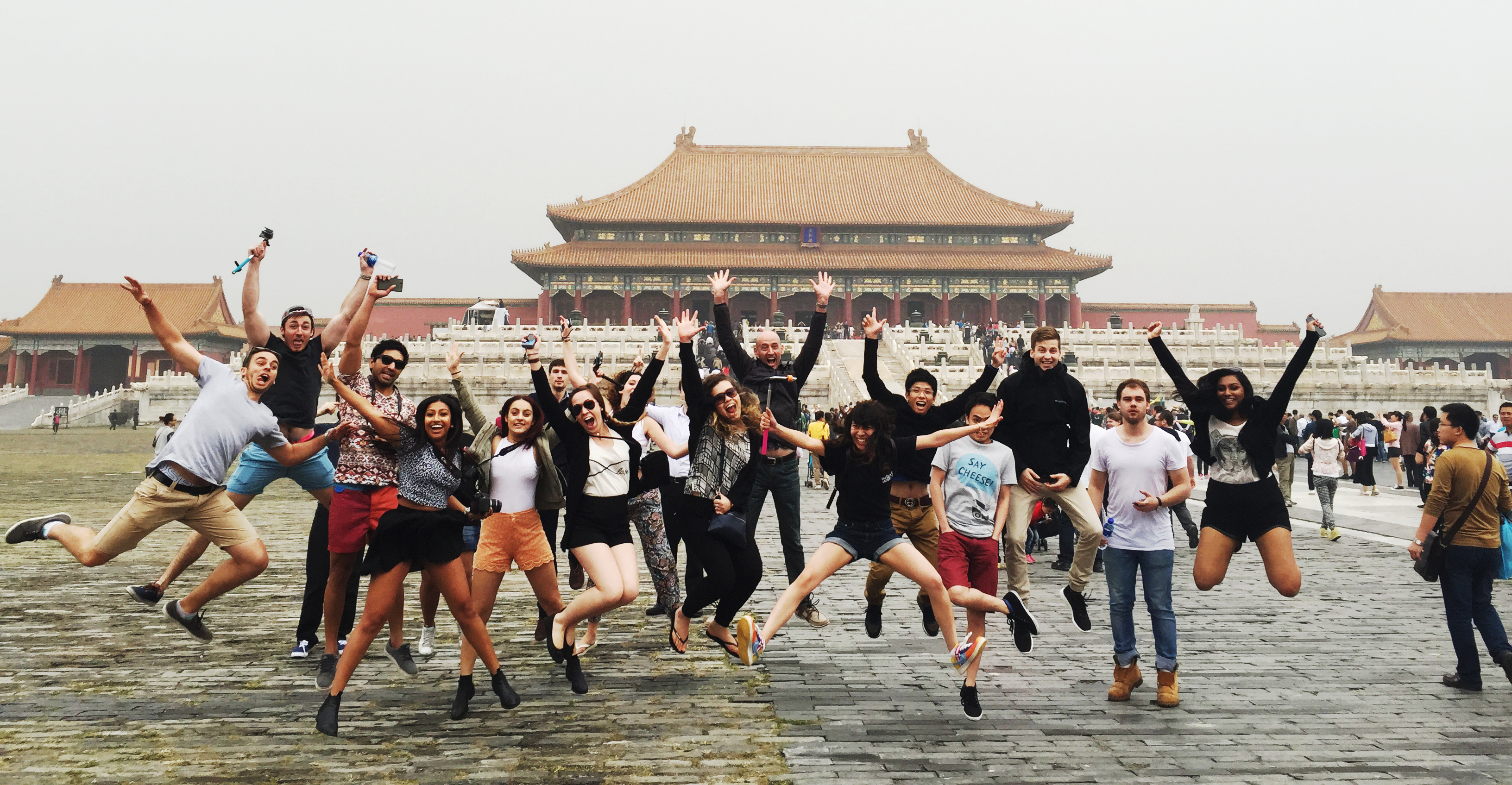 Business students from Macquarie University experience the Chinese culture, lifestyle and approach to business first-hand in China study tour