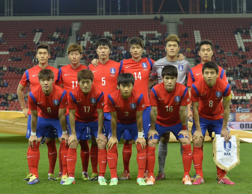 Korea Republic national team, the Taegeuk Warriors.